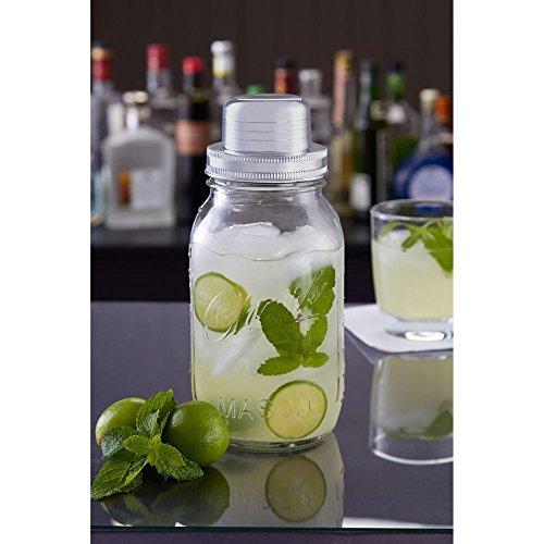 sharper-image-4-piece-cocktail-mason-jar-shaker