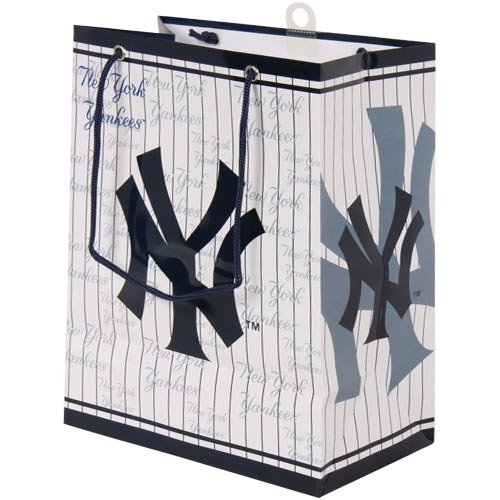 MLB New York Yankees Gift Bag, Medium at Amazon.com
