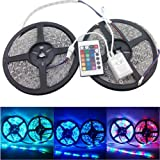 5 Meters 3528 SMD Led RGB Strip With Remote Controller