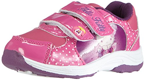 Hello KittyGirls Kids Athletic Sport - Sneaker Ragazza , Multicolore (Mehrfarbig (073 FUXIA/FUXIA)), 29