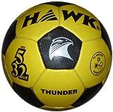 Hawk Thunder Football, Size 5 (Yellow/Black)