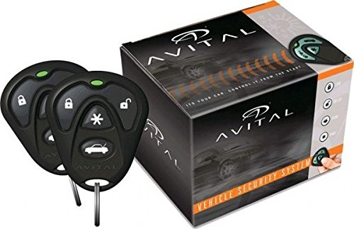 Avital-2-Way-LCD-Security-System