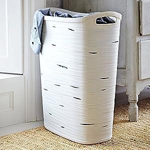 Curver Ribbon Effect Slim Flexible Laundry Washing Tote