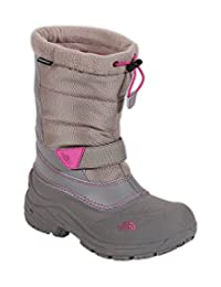 The North Face Youth Alpenglow Extreme Boot (6, Atmosphere Grey/Luminous Pink)