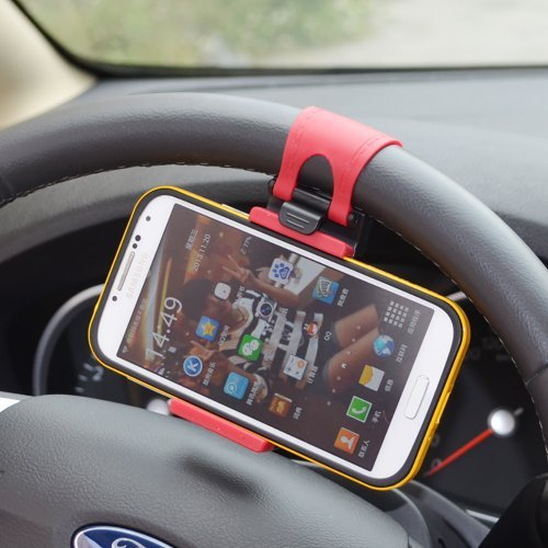 Wooku Mobile Phone Holder Mount Clip Buckle Socket
