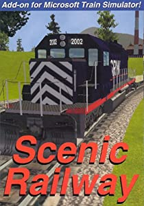 Scenic Railway: add-on for Microsoft Train Simulator