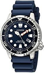 Citizen Men's BN0151-09L Promaster Diver Stainless Steel Watch With Blue PU Band