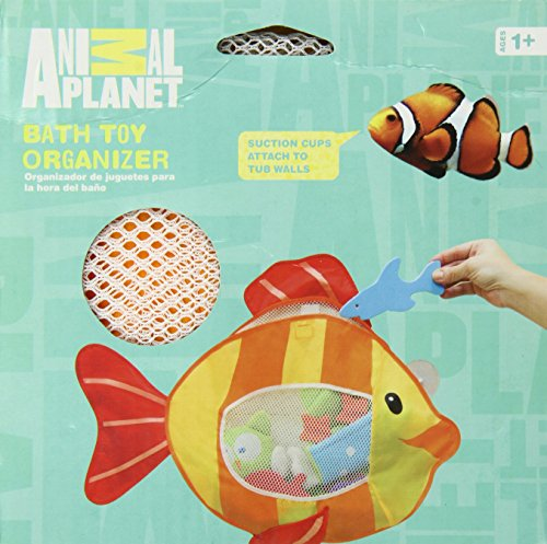 Animal Planet Bath Toy Organizer, Fish