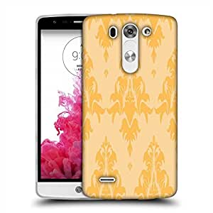 Snoogg Cream String Pattern Designer Protective Phone Back Case Cover For LG G3 BEAT