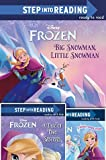 Disney Frozen Reader Set: Big Snowman Little Snowman, Anna's Best Friends, A Tale of Two Sisters (Step Into Reading)