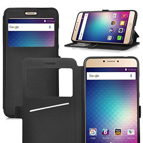eltd-blu-vivo-6-case-flip-premium-case-cover-for-blu-vivo-6-black