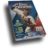 MLB 2010 Topps Chrome MLB Hobby Cards (24 Packs)