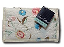 Donna Sharp Quilts Blush Suzette Large Wallet / Handbag Quilted 13678