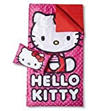 Sanrio Hello Kitty Sleepover 2-Piece Set (Pillow & Slumber Bag)