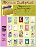 Paper Magic All Occasion Boxed Greeting Card Assortment 20-ct