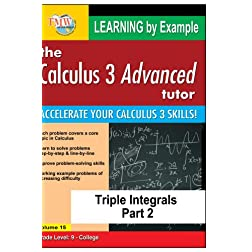 Calculus 3 Advanced Tutor: Triple Integrals Part 2