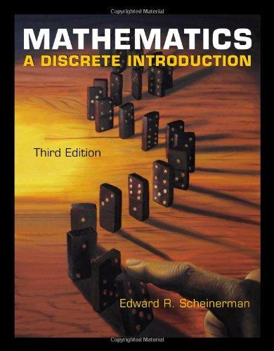 Mathematics: A Discrete Introduction