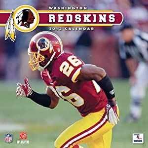 Perfect Timing - Turner 12 X 12 Inches 2013 Washington Redskins Wall Calendar (8011299)