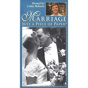 Marriage: Just a Piece of Paper? [VHS]