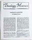 Theology Matters, Volume 9 Number 6, November/December 2003