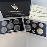 2017 S US Mint 225th Anniversary Coin Set (17XC) Enhanced Uncirculated OGP