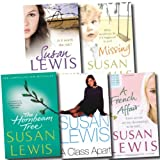 Susan Lewis Susan Lewis Collection 5 Books Set (The Hornbeam Tree, Taking Chances, Missing, A Class Apart, A French Affair)