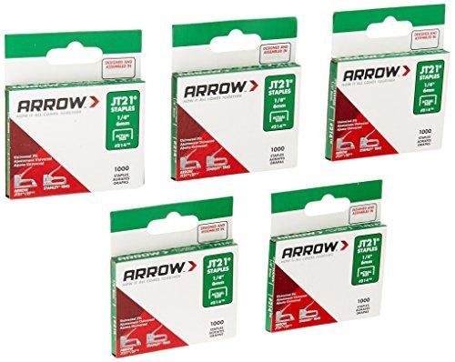 Arrow per JT21 Punti per cucitrici 5000 6mm - 1/4 pollici
