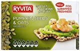 Ryvita Pumpkin Seed and Oat Crispbread 200 g (Pack of 8)