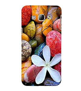 Vizagbeats Color Pebbles Back Case Cover for Samsung Galaxy A8::Samsung A8 2015