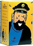 echange, troc Les Aventures de Tintin - Coffret 3 VHS [Inclus un personnage de Haddock]