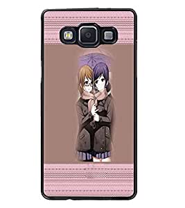 PrintDhaba Besties D-3017 Back Case Cover for SAMSUNG GALAXY E5 (Multi-Coloured)