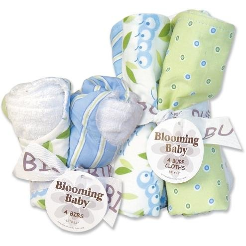 White Cloth Diapers Burp Cloths