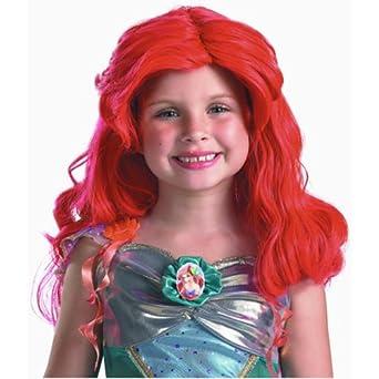 Red Mermaid Wig