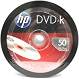 (500-Pack) HP Blank DVD-R DVDR Recordable Branded 16X 4.7GB Media Disc DVDs