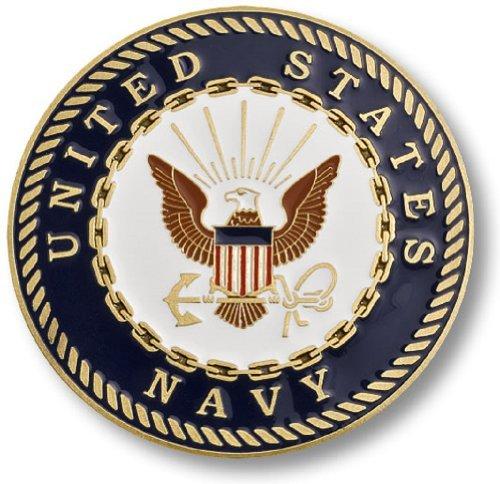 "U.S. Navy Adhesive Medallion 3"""