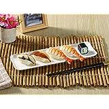 長皿(11.5号長角プレート)/さんま皿/魚皿/おうちカフェ/業務用食器/白食器