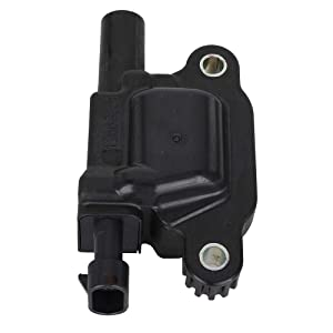 12611424 Ignition Coil Pack Replacement for Cadillac Chevy GMC Pontiac 5.3L 6.0L V8 Engine G8 Grand Prix H3 Tahoe Yukon Silverado Impala Replace 12570616 12619161 8125706160 33-1192(8 pack)