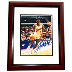 Dominique Wilkins Autographed Hand Signed Atlanta Hawks 8x10 Photo - MAHOGANY CUSTOM... by Real Deal Memorabilia