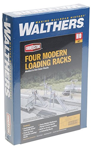 Walthers SceneMaster Walthers Cornerstone Four Modern Loading Racks
