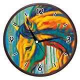 Wall Clocks - Printland Horse Wall Clock