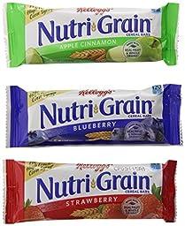 Nutri-Grain Kellogg\'s Cereal Bars Variety Pack, 48 Count