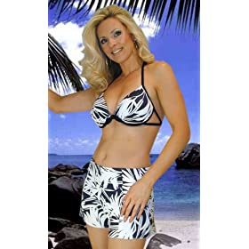 Jax Couture Designer Swimsuit Separates: Strappy Underwire Bra Top