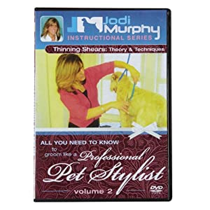 PetEdge Jodi Murphy Grooming DVD, Thinning Shears
