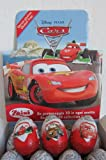 Zaini Disney CARS 2 -chocolate egg treat with TOY-Made in ITALY-SHIPPING FROM USA