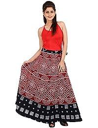 Jaipur Skirt Women's Cotton Wrap Skirt - B01F5OJ4UM