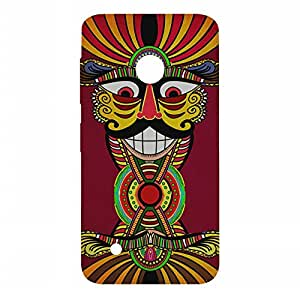 RANGSTER Villian Abstract-Rangful Matte Finish Mobile Case For Nokia Lumia 530 Dual SIM-Maroon