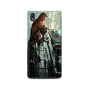 MOBICTURE Girl Abstract Premium Designer Mobile Back Case Cover For Sony Xperia Z5