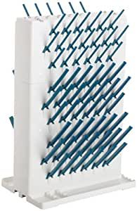 """Bel-Art Scienceware 189330023 Lab-Aire II Double-Sided Non-Electric Benchtop Drying Rack, 14.75"""" Width x 10"""" Depth x 22.4"""" Height"""