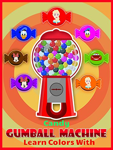 Learn Colors With Gumball Candy Machine