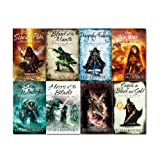Adrian Tchaikovsky Adrian Tchaikovsky Shadows of the Apt Collection 8 Books Set,(Blood of the mantis, Dragonlly Falling, The Searab Path, The Sea Watch, Heris of the Blade, The Air War and Empire in Black and Gold)